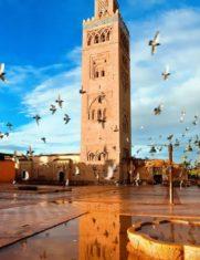Марракеш город в Марокко