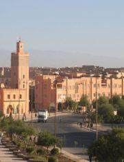Уарзазат город в Марокко
