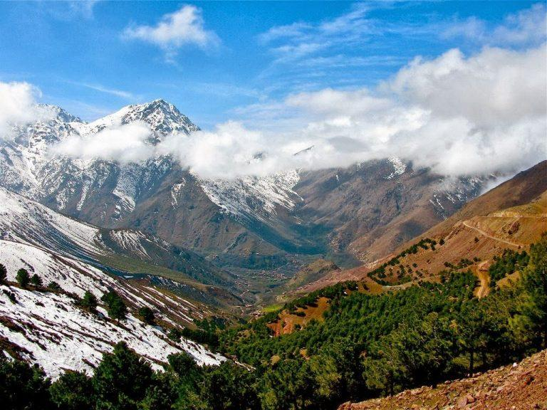 Атласские горы - горная система в Марокко