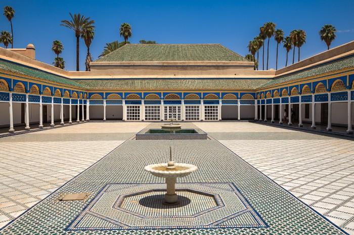 Марокко г. Марракеш - Дворец Бахия