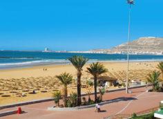 Город Агадир Марокко