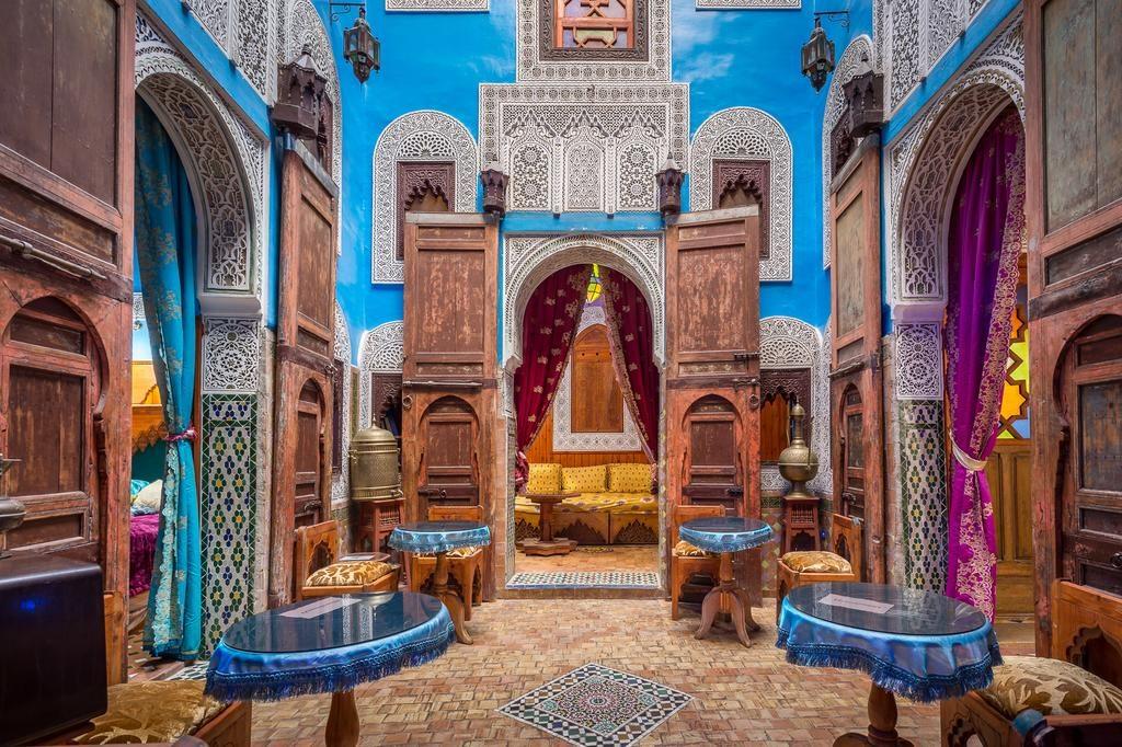 Мекнес город в Марокко