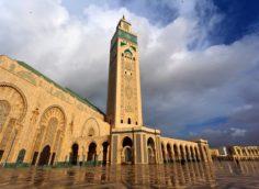 Марокко, г. Касабланка Мечеть Хасана II