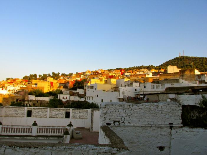 Уаззан город в Марокко