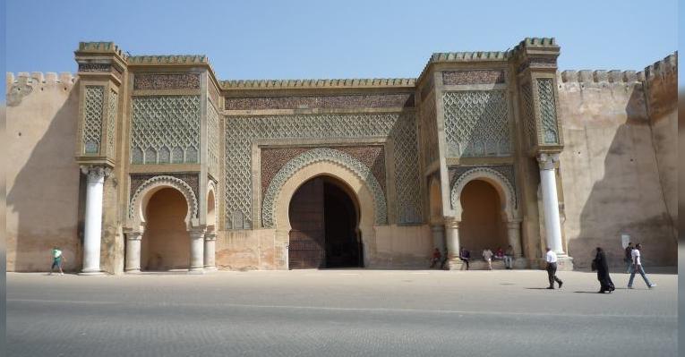 Ворота Баб-эль-Мансур, г.Мекнес, Марокко