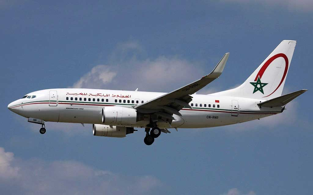 Боинг 737-700 Royal Air Maroc