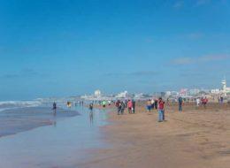 Пляж Айн-Диаб в Марокко