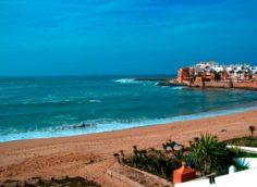Пляж Айн Диаб в Марокко