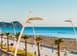 Пляж Мартил в Марокко