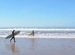 Пляж Сиди Кауки в Марокко