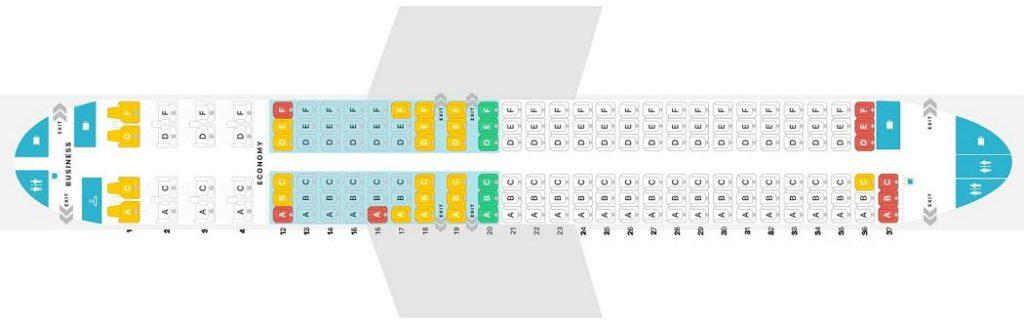 Схема самолета боинг 737 мах 8