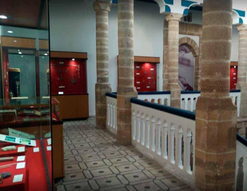 Внутри Музей сиди Мохаммед бен Абдаллы