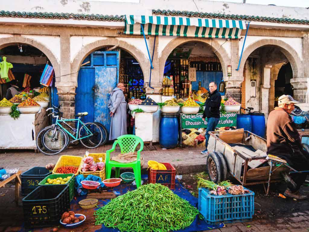 Воскресный базар в Эс-Сувейра
