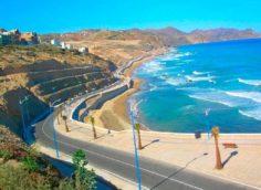 Город Эль-Хосейма, береговая линия